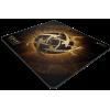 Фото Килимок для миші Xtrfy XTP1 NiP Lightning Medium (XTP1-M3-NIP-LI) Black/Gold