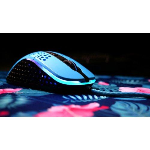 Фото Миша Xtrfy M4 RGB (XG-M4-RGB-BLUE) Miami Blue