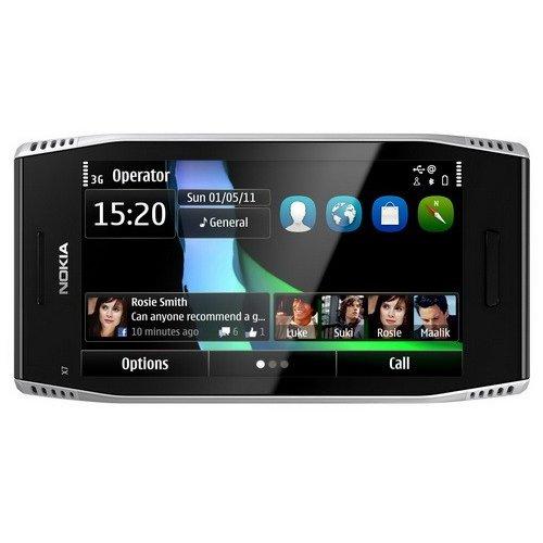 Фото Мобильный телефон Nokia X7-00 Light Steel