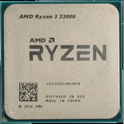 AMD Ryzen 3 2200G 3.5(3.7)GHz sAM4 Tray (YD2200C5M4MFB)
