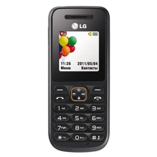 Фото Мобильный телефон LG A100 Black