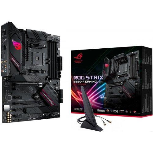 Фото Asus ROG STRIX B550-F GAMING (WI-FI) (sAM4, AMD B550)