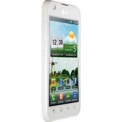 Фото Смартфон LG Optimus Black P970 White