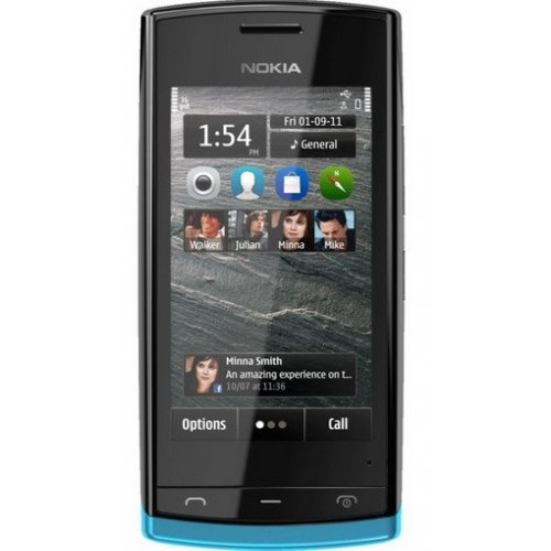 Фото Мобильный телефон Nokia 500 Black (Azure/Red)