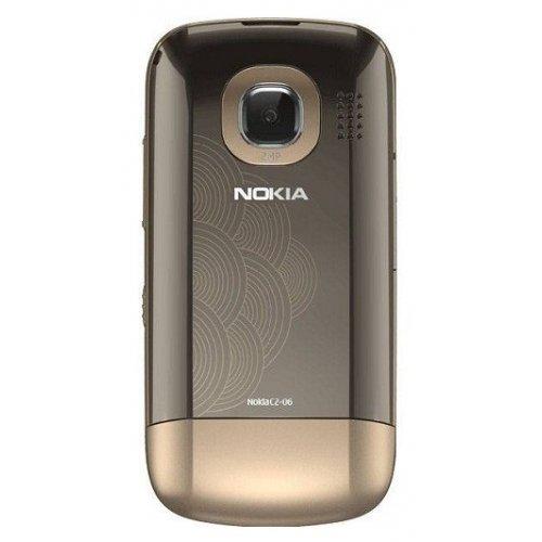 Фото Мобильный телефон Nokia C2-06 Touch and Type Dual SIM Golden Buff