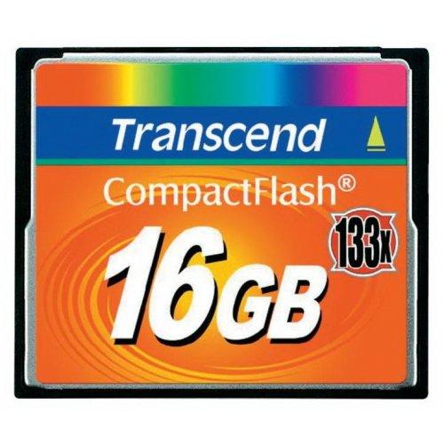 Фото Карта памяти Transcend CF 16GB (133x) (TS16GCF133)