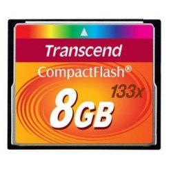 Фото Карта памяти Transcend CF 8GB (133x) (TS8GCF133)