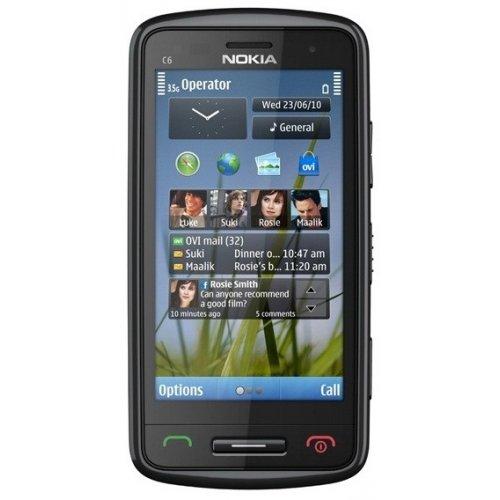 Фото Мобильный телефон Nokia C6-01 Red