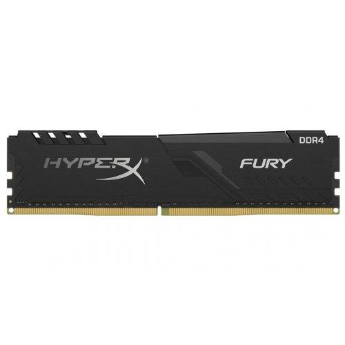 Фото HyperX DDR4 16GB 3600Mhz Fury Black (HX436C18FB4/16)