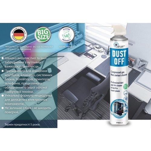 Фото Спрей HTA Contactless Cleaner Dust Off 750ml (06051)
