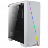 Aerocool Cylon RGB Tempered Glass без БП White