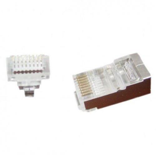 Купить Кабели и аксессуары для сетей, Cablexpert 5E FTP 8P8C Pass-Through modular 5(LC-PTF-01/50)