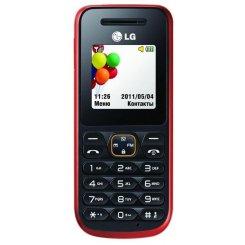 Фото Мобильный телефон LG A100 Red
