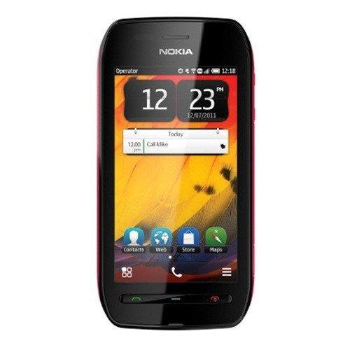 Фото Мобильный телефон Nokia 603 Black Fuchsia