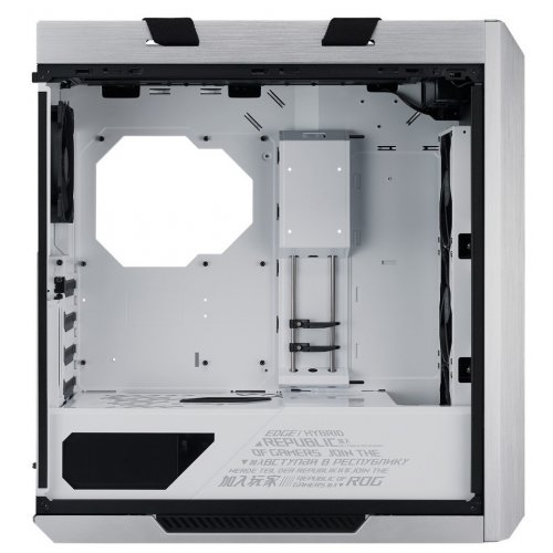 Фото Корпус Asus ROG Strix Helios GX601 RGB Tempered Glass без БП (90DC0023-B39000) White Edition