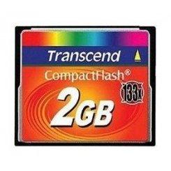 Фото Карта памяти Transcend CF 2GB (133x) (TS2GCF133)