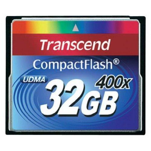 Фото Карта памяти Transcend CF 32GB (400x) (TS32GCF400)
