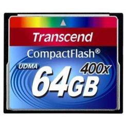 Фото Карта памяти Transcend CF 64GB (400x) (TS64GCF400)