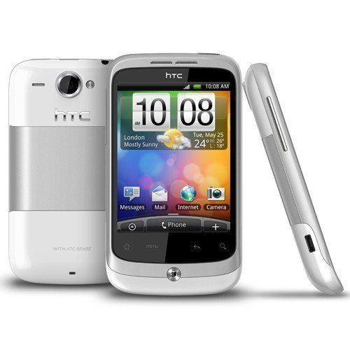 Фото Смартфон HTC A3333 Wildfire White