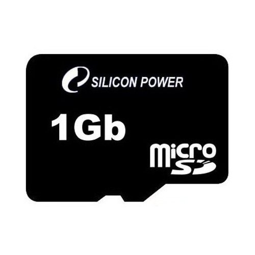 Фото Карта памяти Silicon Power microSD 1GB