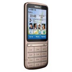 Фото Мобильный телефон Nokia C3-01.5 Touch and Type Copper Brown