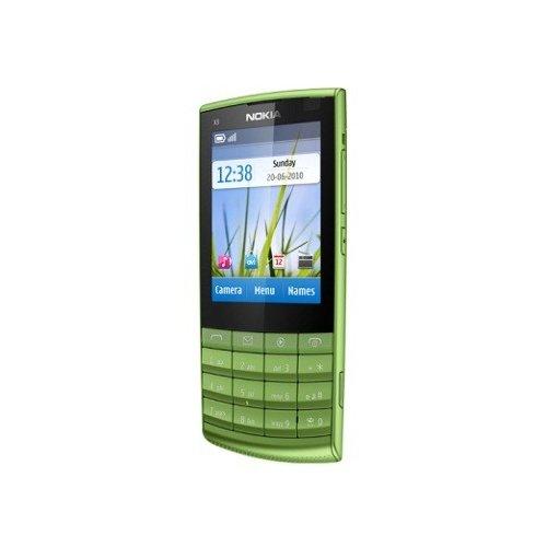 Фото Мобильный телефон Nokia X3-02.5 Touch and Type Green