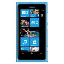 Фото Смартфон Nokia Lumia 800 Cyan