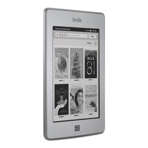 Фото Электронная книга Amazon Kindle Touch
