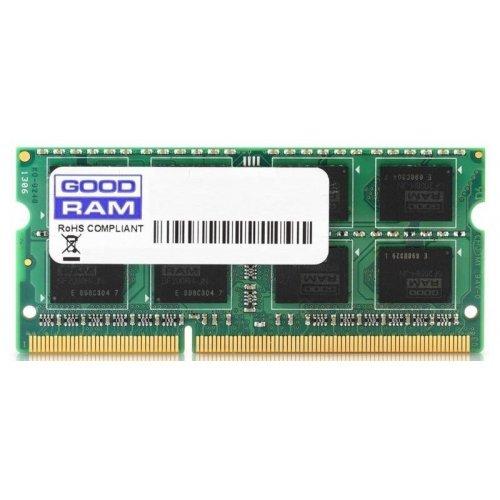 Фото ОЗУ GoodRAM SODIMM DDR3 4GB 1600MHz (GR1600S3V64L11/4G) 16Chip (Intel G41,G43,Q43,P43,Q45,P45,H55,H57,X5