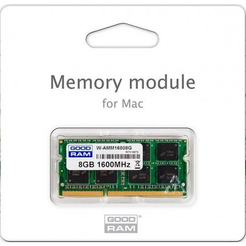 Фото ОЗУ GoodRAM SODIMM DDR3 4GB 1066MHz (W-AMM10664G)