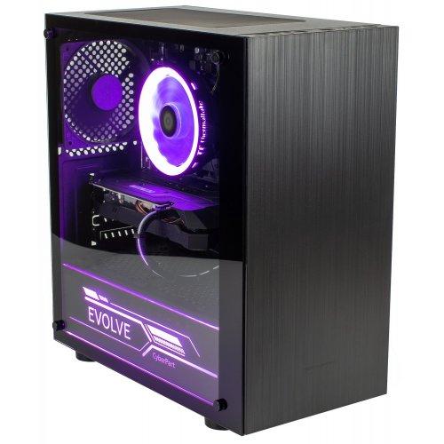 Фото ПК для киберспорта EVOLVE CyberPart Gold (EVCP-R330XN166S-8S120GBk) Black