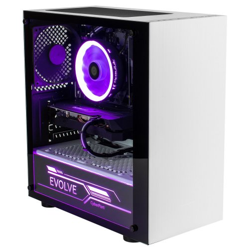 Фото ПК для киберспорта EVOLVE CyberPart Platinum (EVCP-i1010N166S-8S120GWh) White