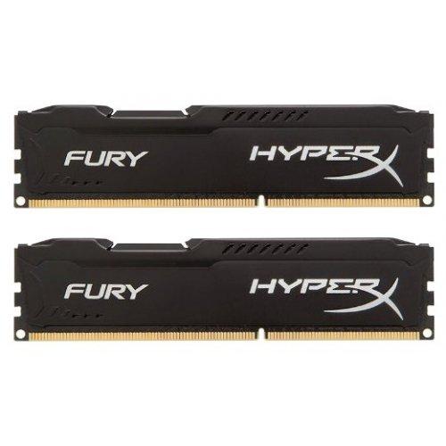 Фото ОЗУ Kingston DDR3 16GB (2x8GB) 1866MHz HyperX FURY Black (HX318C10FBK2/16)