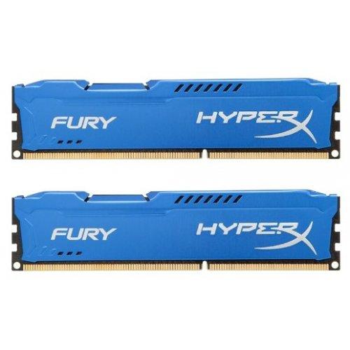 Фото ОЗУ Kingston DDR3 16GB (2x8GB) 1866MHz HyperX FURY Blue (HX318C10FK2/16)