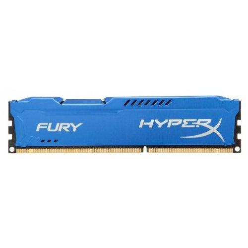 Фото ОЗУ Kingston DDR3 4GB 1600MHz HyperX FURY Blue (HX316C10F/4)