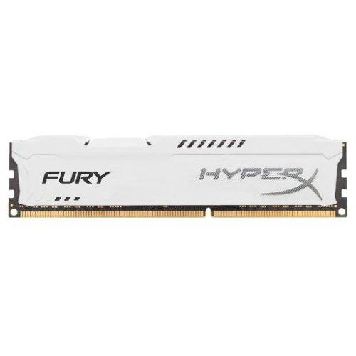Фото ОЗУ Kingston DDR3 4GB 1866MHz HyperX FURY White (HX318C10FW/4)