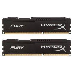 Фото ОЗУ Kingston DDR3 8GB (2x4GB) 1866MHz HyperX FURY Black (HX318C10FBK2/8)