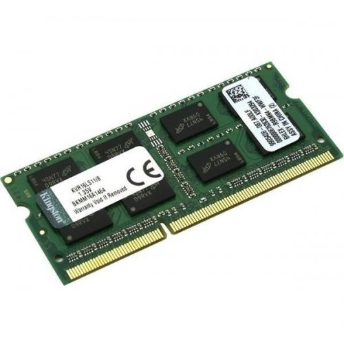 Фото ОЗУ Kingston SODIMM DDR3 8GB 1600MHz (KVR16LS11/8)