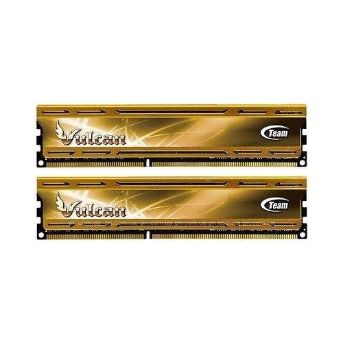 Фото ОЗУ Team DDR3 8GB (2x4GB) 2400MHz Vulcan (TLYD38G2400HC11CDC01)