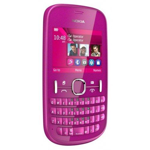 Фото Мобильный телефон Nokia Asha 200 Pink