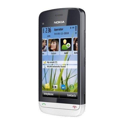 Фото Мобильный телефон Nokia C5-06 Aluminum Grey
