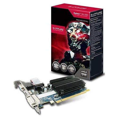 Фото Видеокарта Sapphire Radeon R5 230 1024MB (11233-01-20G)