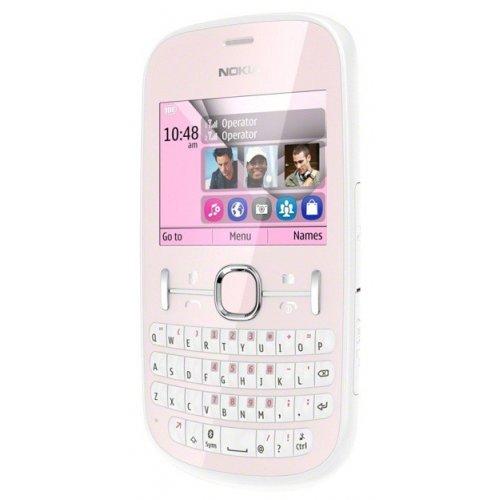 Фото Мобильный телефон Nokia Asha 200 Light Pink