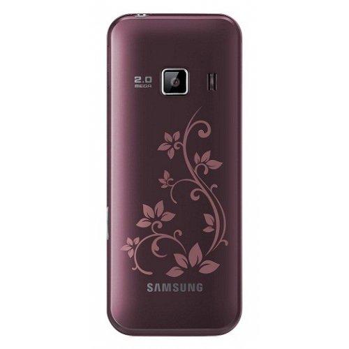 Фото Мобильный телефон Samsung C3322 Duos Scarlet Red La Fleur