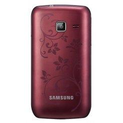 Фото Мобильный телефон Samsung Wave Y S5380 Wine Red La Fleur