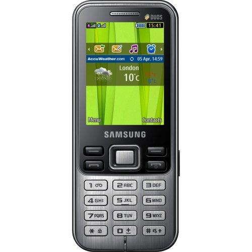 Фото Мобильный телефон Samsung C3322 Duos Deep Black