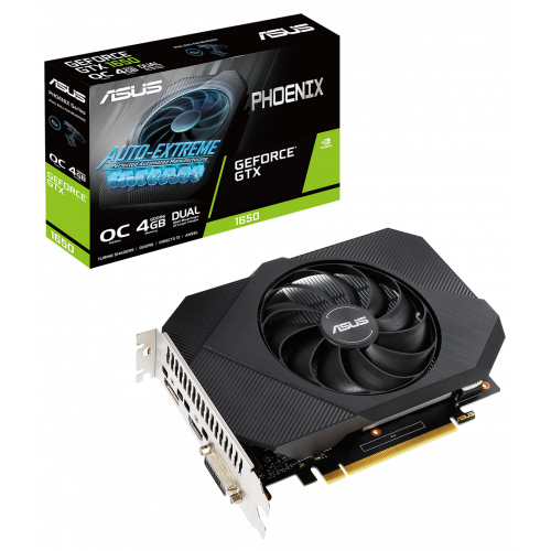 Фото Asus GeForce GTX 1650 Phoenix OC 4096MB (PH-GTX1650-O4GD6-P)