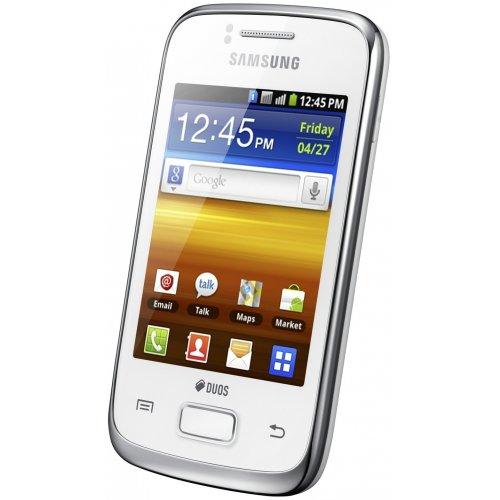 Фото Смартфон Samsung Galaxy Y Duos S6102 Pure White
