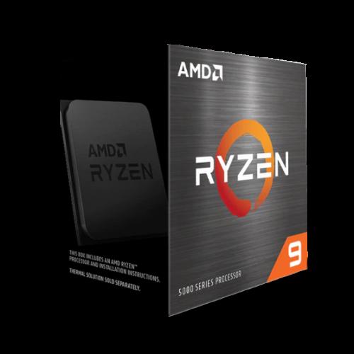 Фото AMD Ryzen 9 5900X 3.7(4.8)GHz 64MB sAM4 Box (100-100000061WOF)