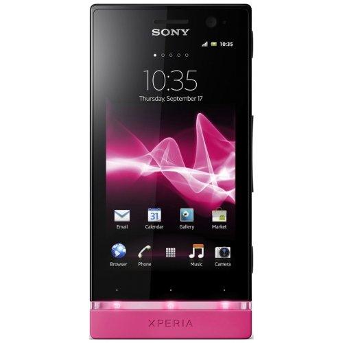 Фото Смартфон Sony Xperia U ST25i Black/Pink